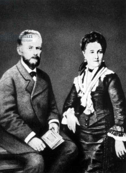 Peter Tchaikovsky and Antonina Miliukova