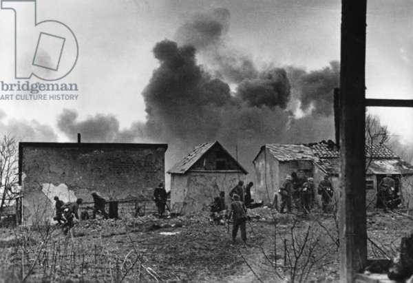 German soldiers in the Kuban Bridgehead, Taman Peninsula, 1943