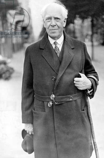 Konstantin Stanislavsky, 1927 (b/w photo)
