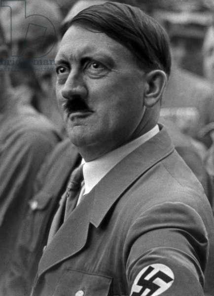 Adolf Hitler, 1937 (b/w photo)