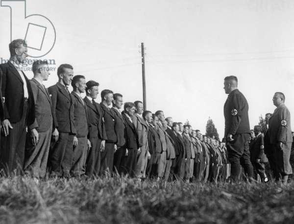 Sudeten German Freikorps, 1938