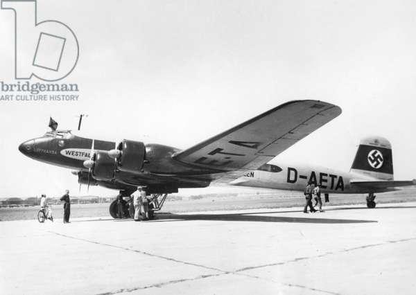 Focke Wulf Fw 200 'Condor', 1938 (b/w photo)