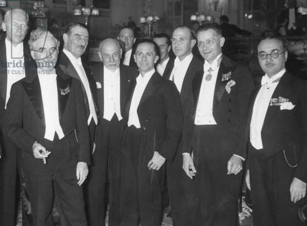 Joseph Goebbels at the 9th International Composers' and Authors' Congress, 1936