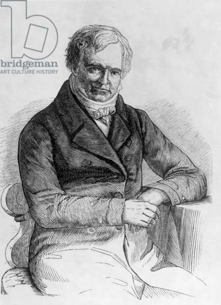 Alexander von Humboldt (b/w photo)