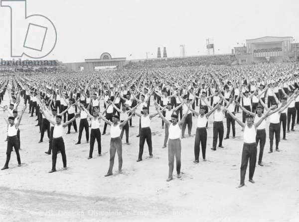 Workers' Olympiads in Prague, 1928