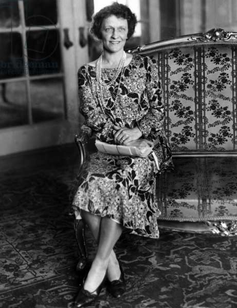 Nancy, Lady Astor (b/w photo)