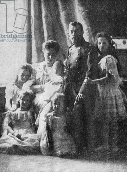 Family photo of the Romanovs, 1905