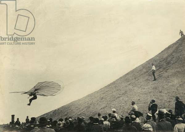 Otto Lilienthal, 1896 (b/w photo)