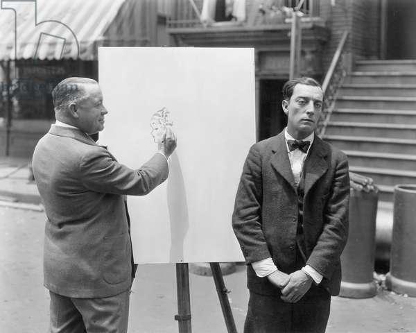 Buster Keaton and George McManus
