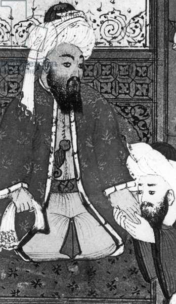 Caliph Abu Bakr (573-634) (b/w photo)