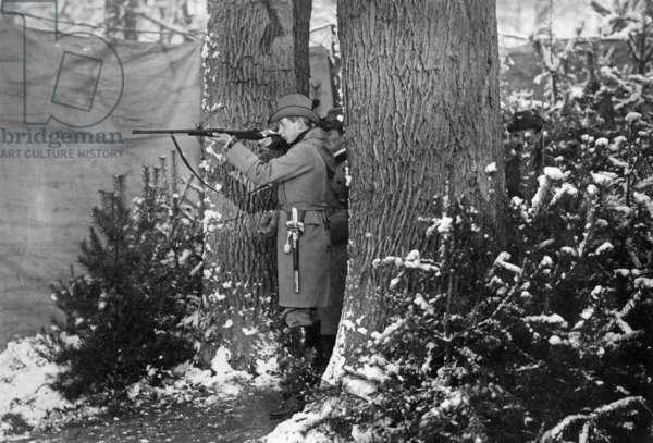 Court hunt in Letzlingen, 1908