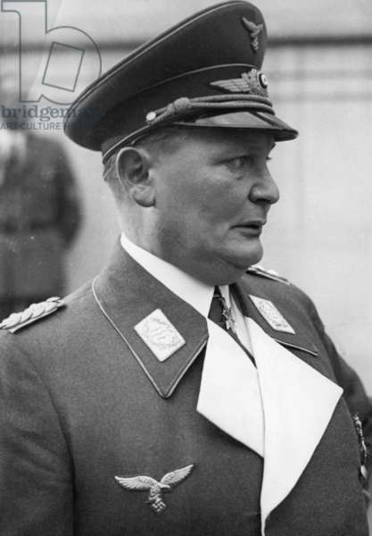 Portrait of Hermann Göring, 1938 (b/w photo)