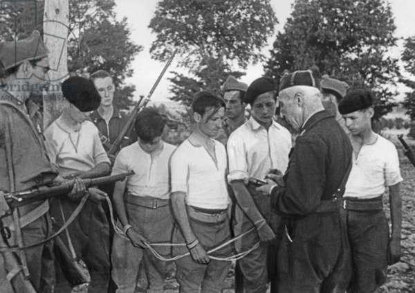 Republican prisoners in the Spanish Civil War, 1936