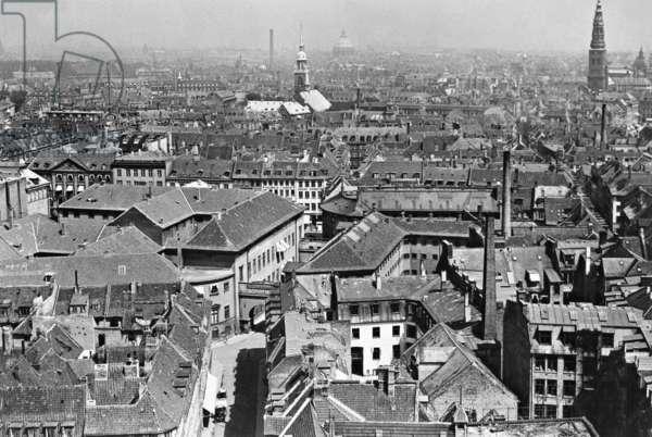 Copenhagen, 1932 (b/w photo)