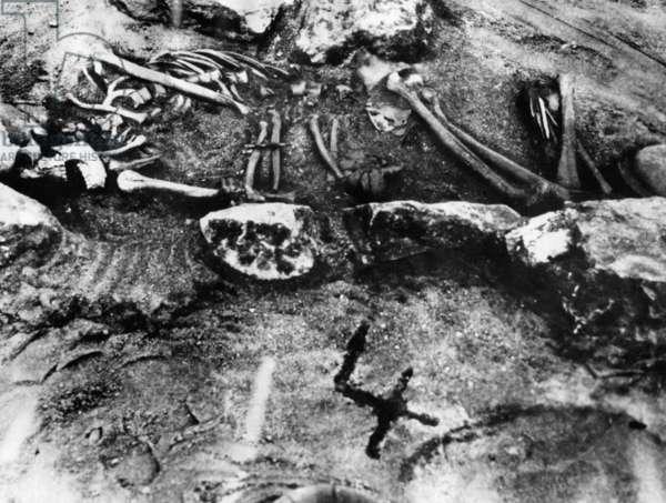 Excavations in ancient Bohemia, 1929