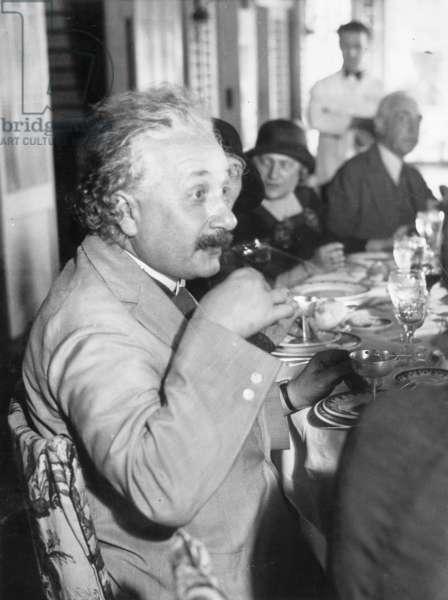 Albert Einstein, 1930 (b/w photo)