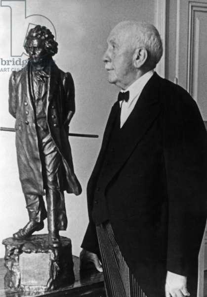Richard Strauss (1864-1949) (b/w photo)