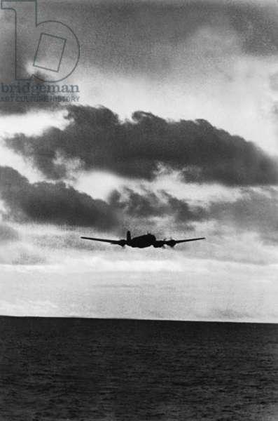 German Focke Wulf Fw 200 Condor, 1941 (b/w photo)
