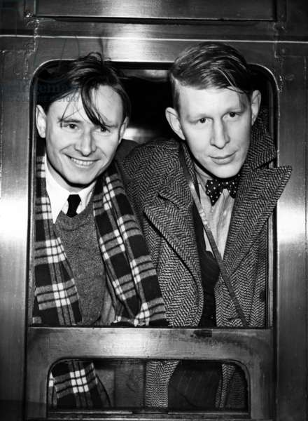 Wystan H. Auden et Christopher Isherwood