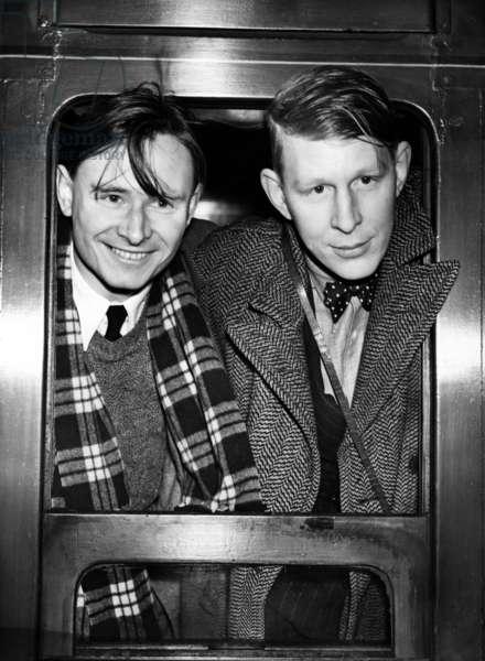 Wystan H. Auden et Christopher Isherwood