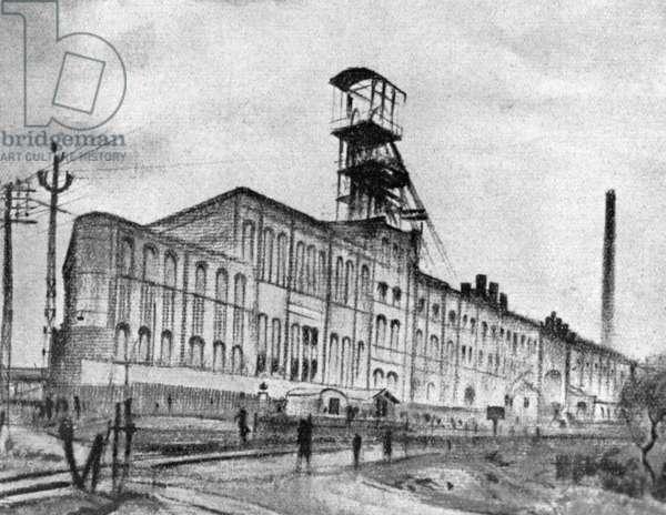Wilhelmschacht of the Eschweiler mine