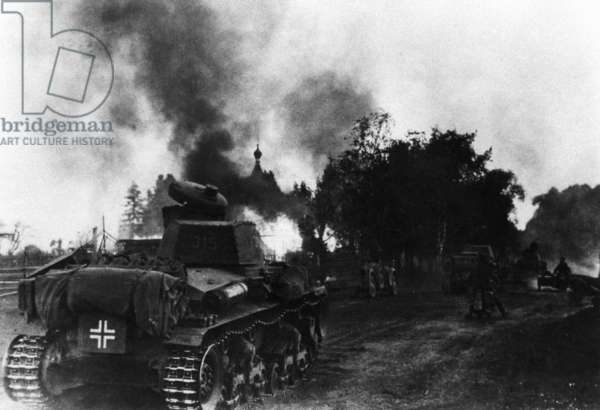 German tanks on the Eastern front, 1941
