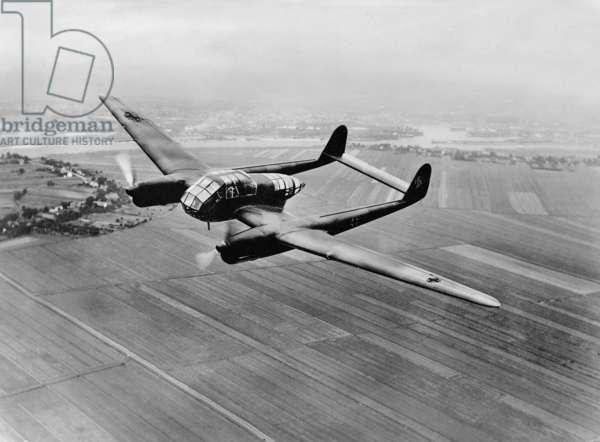 Focke Wulf Fw 189, 1941 (b/w photo)