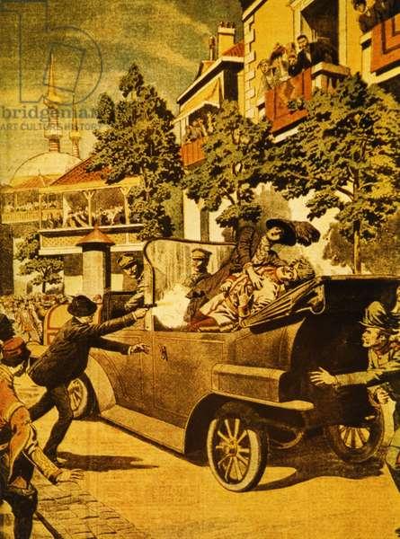 Assassination of Archduke Franz Ferdinand of Austria, 1914