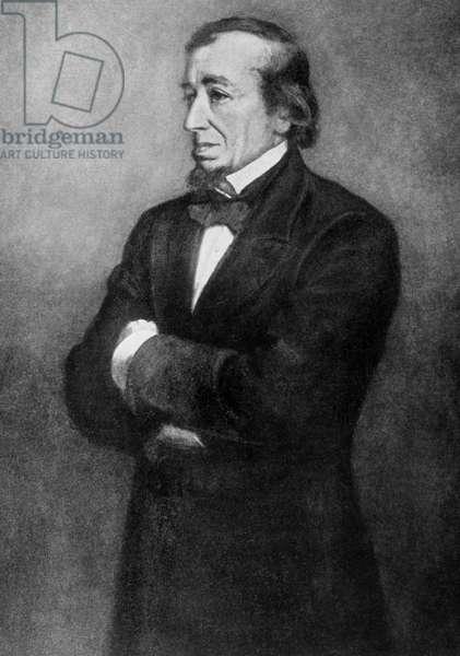 Benjamin Disraeli (b/w photo)