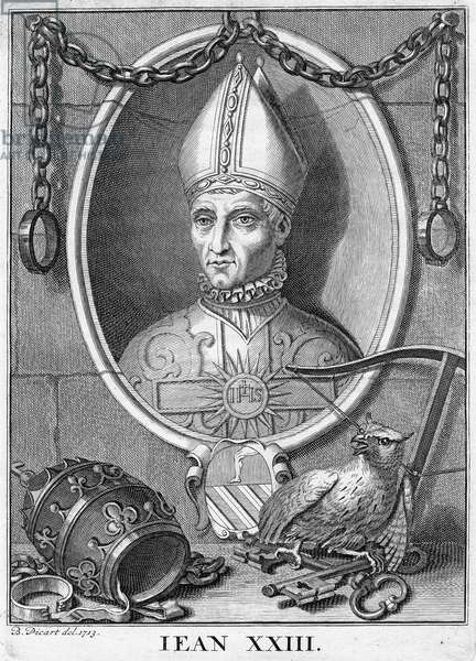 Pope John XXIII, 1410 - 1415 (b/w photo)