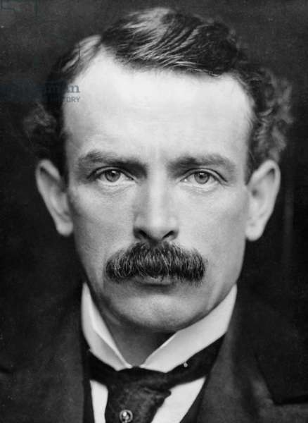 David Lloyd George, 1902 (b/w photo)