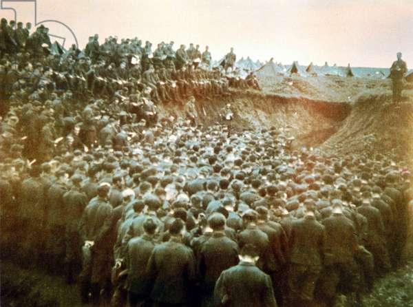 Field service in the Stalingrad Cauldron, 1942