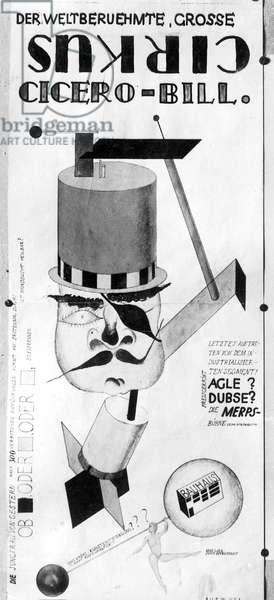 Poster advertising a Bauhaus festival, 1932 (litho)