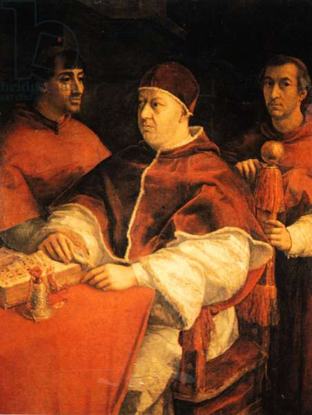Pope Leo X by Raphael