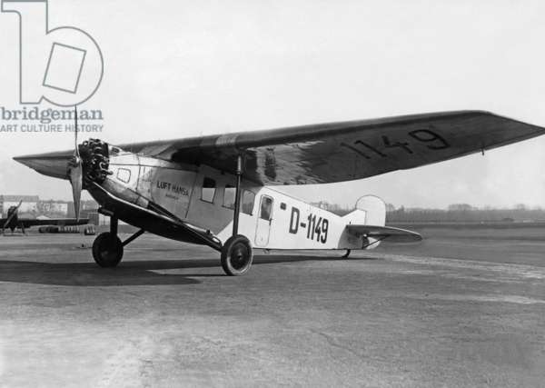 Focke-Wulf A17, around 1930