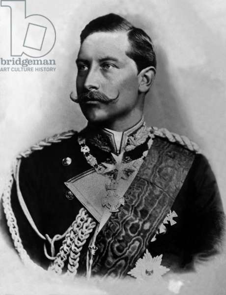 Emperor Wilhelm II (b/w photo)