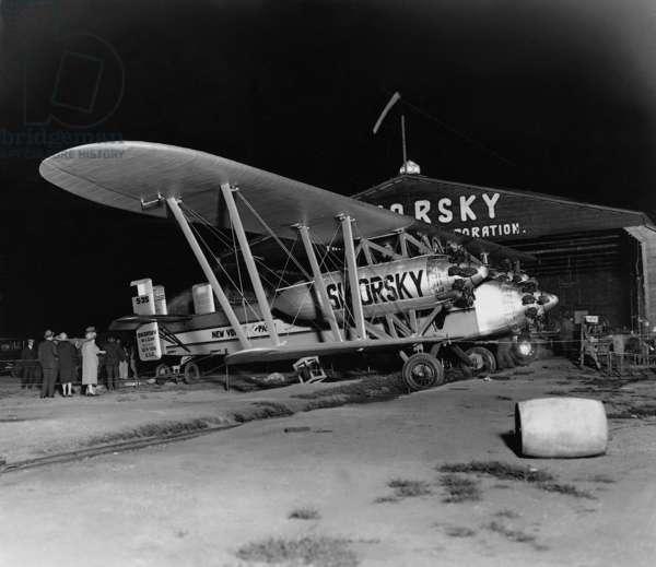 Sikorsky plane S-35, 1926 (b/w photo)