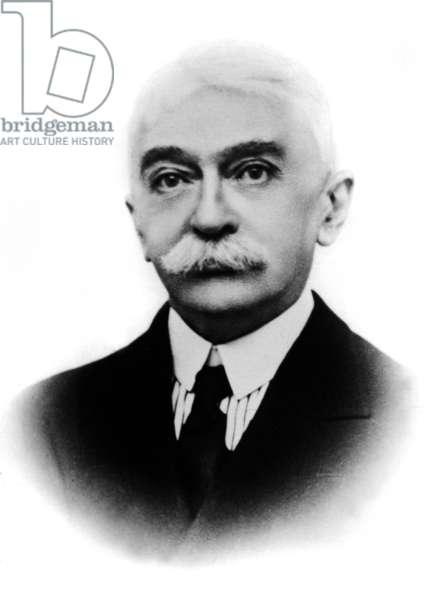 Le baron Pierre de Coubertin