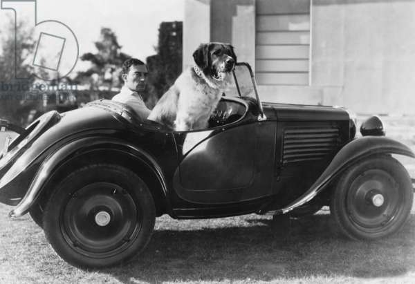 Buster Keaton, 1931 (b/w photo)