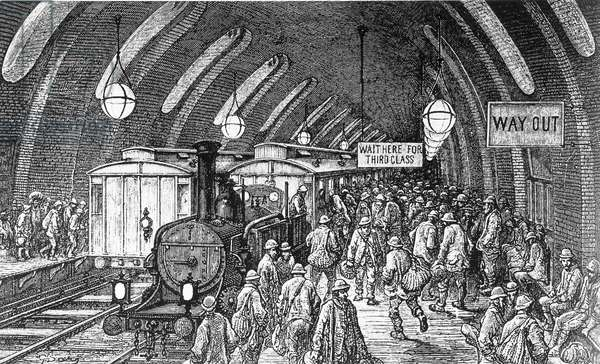The London Underground, 1875