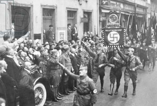 The first Nazi Party Rally of the NSDAP in Weimar, 1926