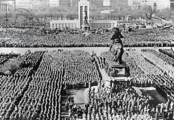 Rally on the Heldenplatz in Vienna, 1941