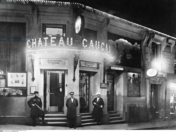 Parisian Nightclub, 1931 (b/w photo)