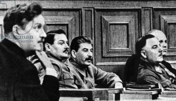 Joseph V. Stalin in the 1930s (b/w photo)