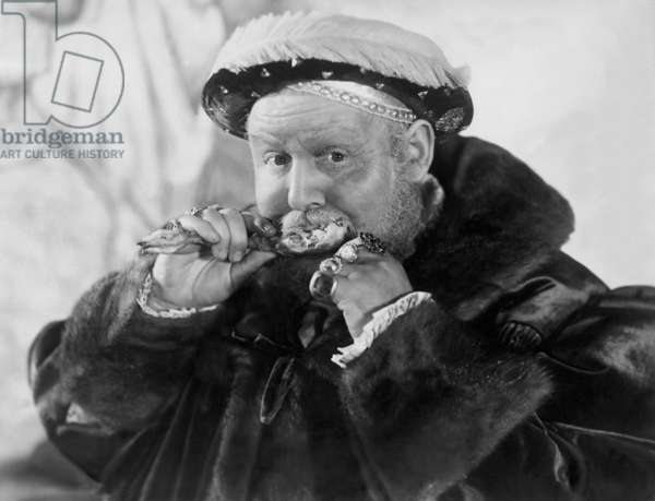 Charles Laughton in 'The Private Life of Henry VIII', 1933 (b/w photo)