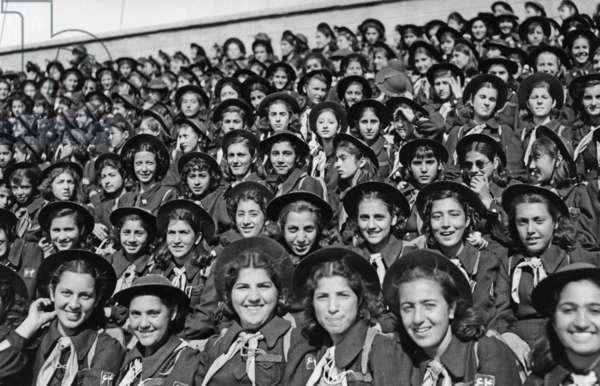 Iranian girlscouts, 1939