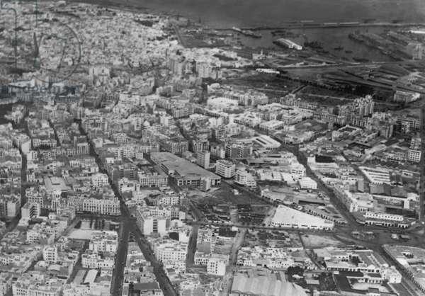 Casablanca, 1943 (b/w photo)