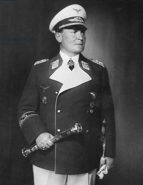 Portrait of Hermann Göring, 1939 (b/w photo)