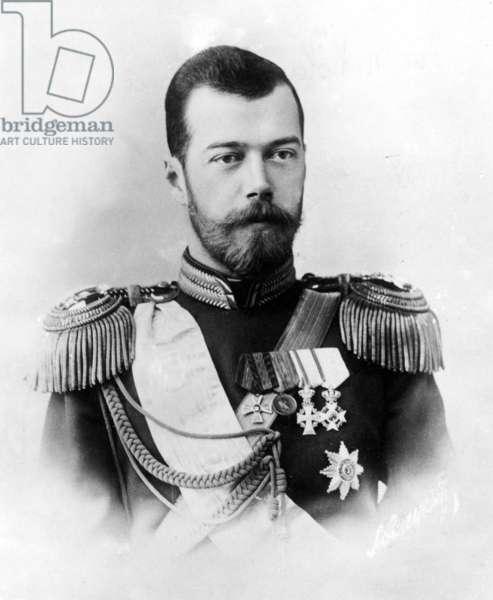 Tsar Nicholas II, ca. 1900