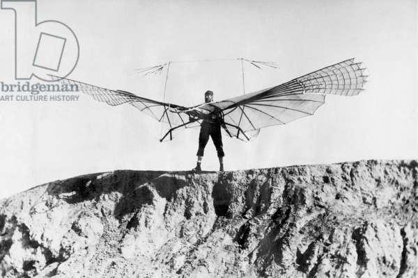 Otto Lilienthal (b/w photo)